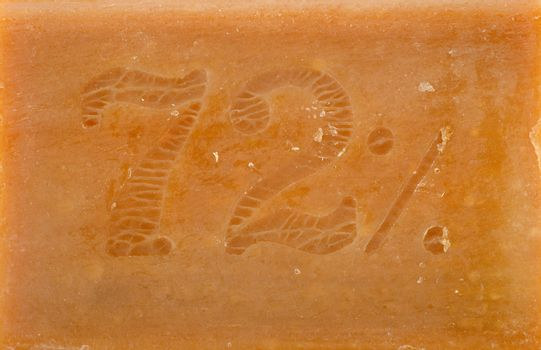 Background of brown soap
