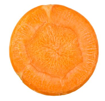 Carrot cut in slices