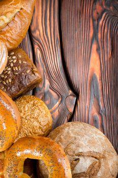 An assortment of bakery breads