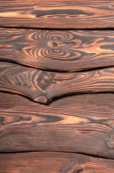 Old wooden board vertica