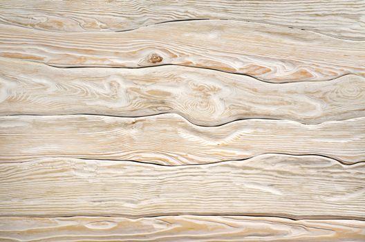 Old  light wooden board