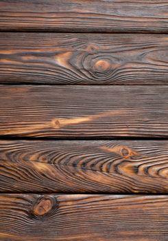 Vertical old wooden board