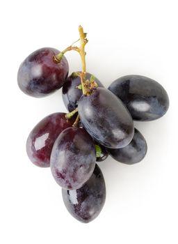 Dark blue grapes