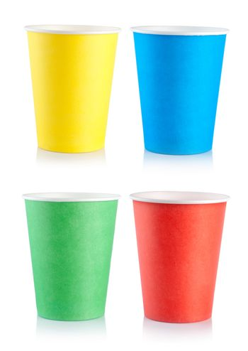 Collage disposable cups