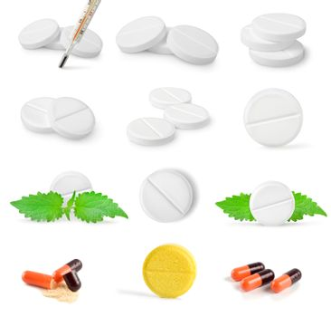 Collage of tablets
