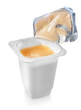Open yogurt
