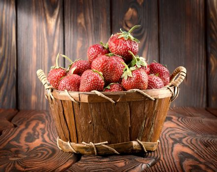 Strawberry on a table