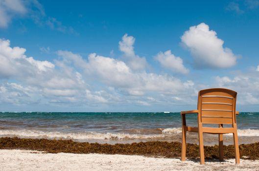 Chair at the beach