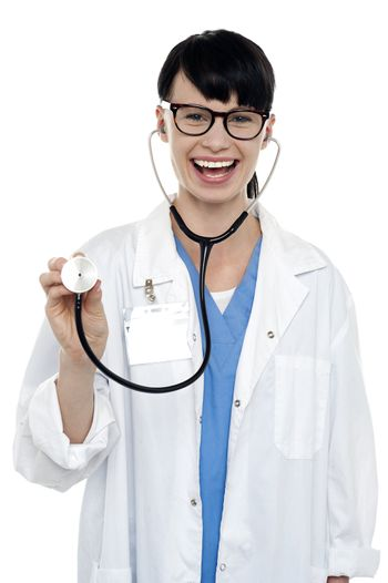 You are in safe hands, be ready for check up