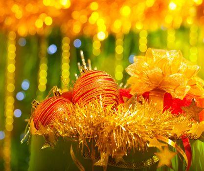 Festive Christmas ornament