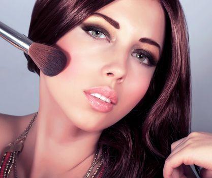 Attractive female do makeover