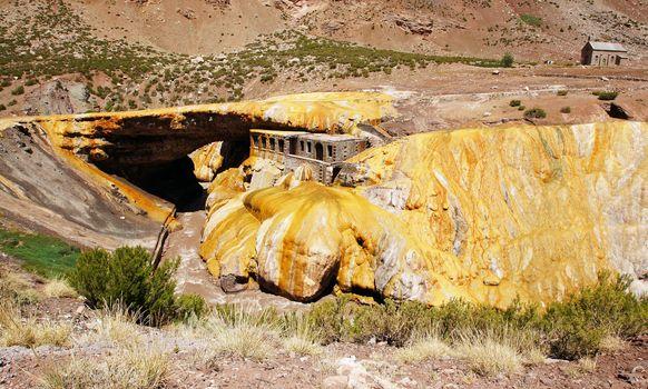 Inca Bridge, Andes Mountains, Argentina