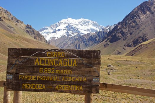 NP Aconcagua, Andes Mountains, Argentina