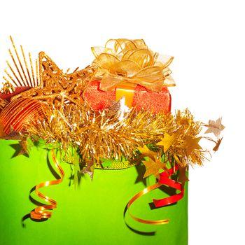 Festive christmastime decoration