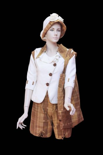 Woman fashion on mannequin isolated