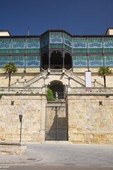 door of ancient house at Salamanca