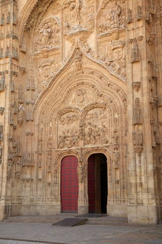 great door of Salamanca cathedral