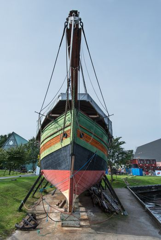 GJOA historical boat