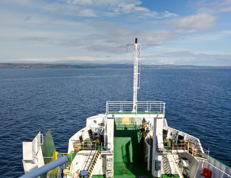 Ferry on the route