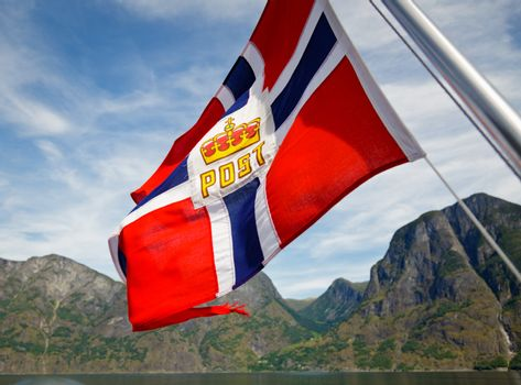 Norwegian Post flag
