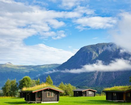 Camping cabins in Scandinavia