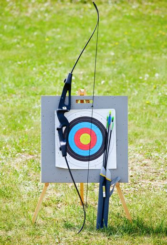 Target archery equipment