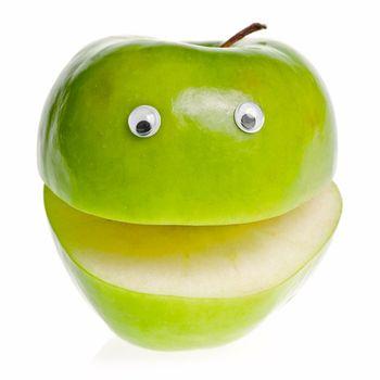 Green Apple Character