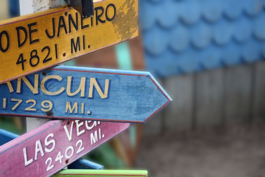 Directional Signs in Cape Cod