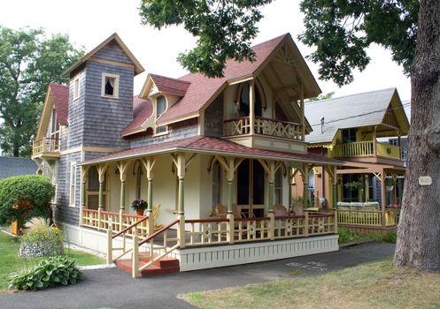 Cape Cod Victorian House