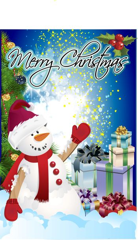 clip art christmas poster