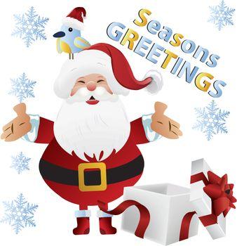 holiday greeting clip art