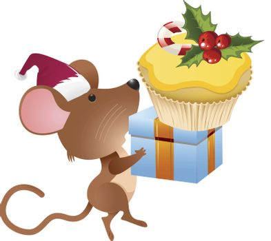 holiday mouse clip art