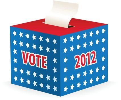 illustrated image of a ballot box