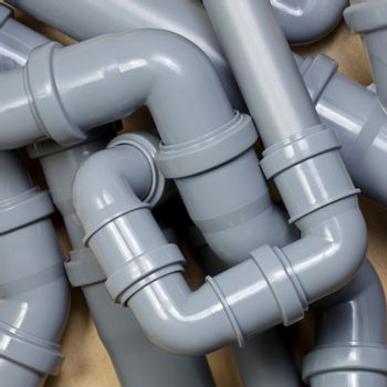 Sewer pipes chaos