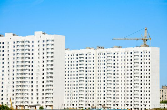 Apartment blocks construction