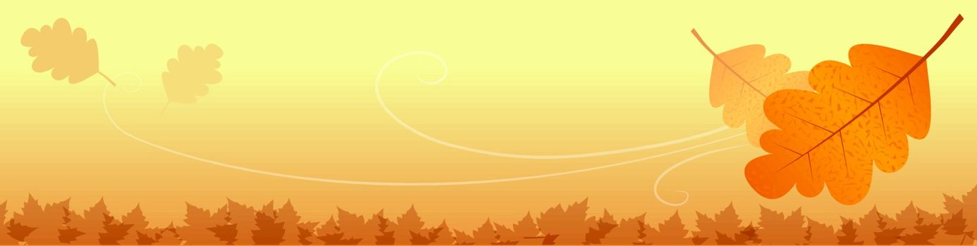 Vector of Autumn leaves
