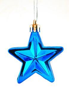 Blue star  for Christmas tree