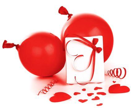Romantic holiday decorations
