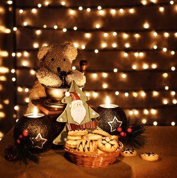 Traditional Christmas toys