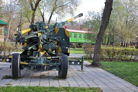 100 mm  zenithal gun KS 19  parts