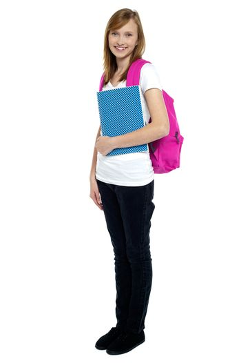 University student ready to attend college