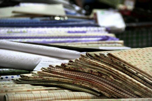 Fabrics assortment