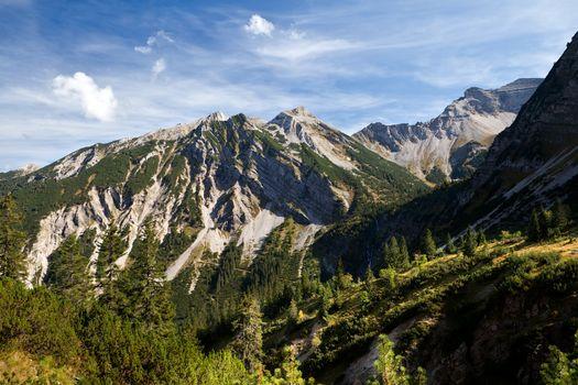 rocks in European Alps