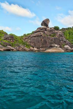 Landscape, Similan Islands