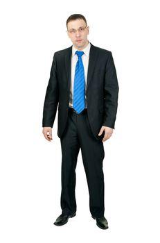 Businessman in full-length