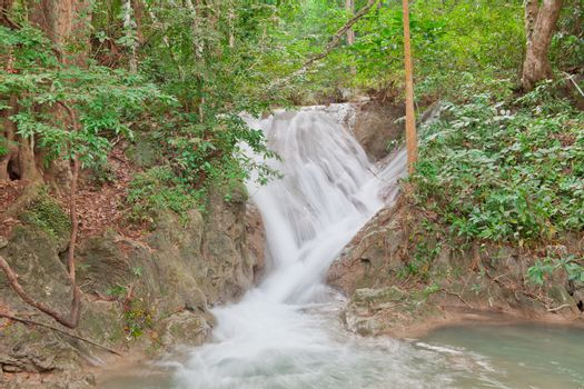 Erawan waterfall National Park, Thailand