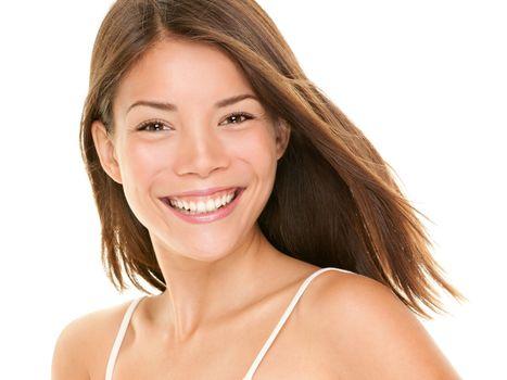 Natural smile - woman
