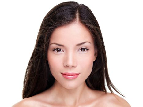 Beautiful ethnic woman beauty portrait