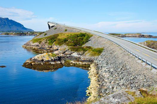 Scenic ocean road