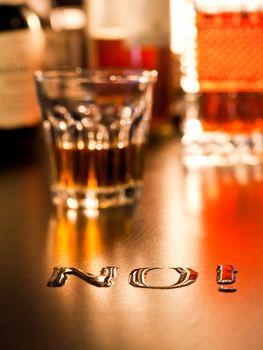 No to Alcohol